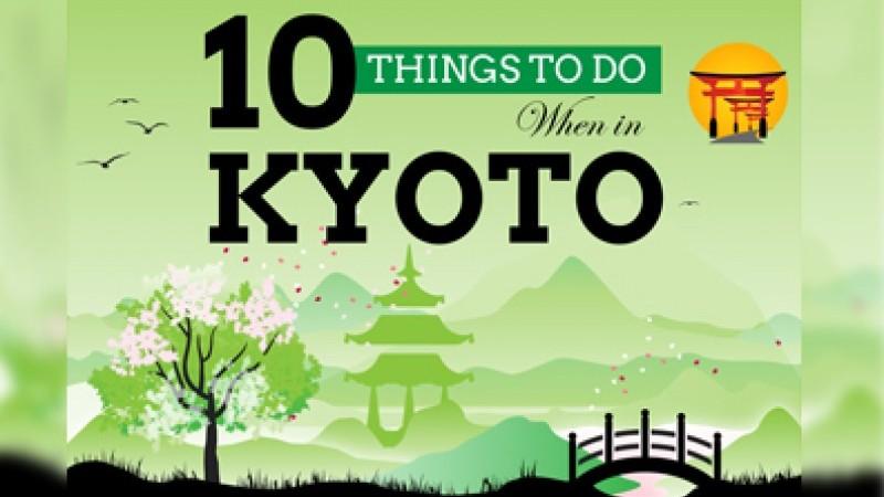 10 Cosas para hacer cuando en Kyoto